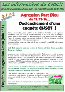 CHSCT bulletin agression novembre 2014