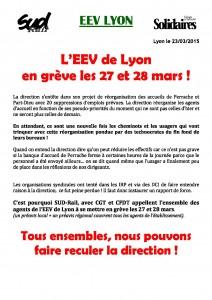 tract EEV appel a la greve