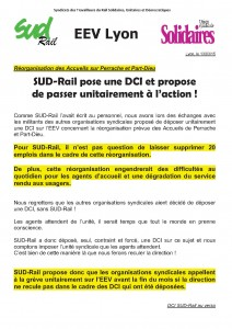 tract EEV suppressions emplois part dieu
