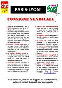 CONSIGNE AE PARIS LYON