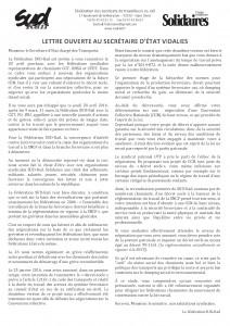 Lettre ouverte à Vidalies - Invitation du 28.04.2016