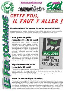 Fer Solidaire 10 mai 2016