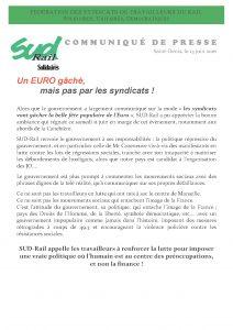 Fédération SUD-Rail - COM de PRESSE - Euro gaché.13.06.2014 (1)