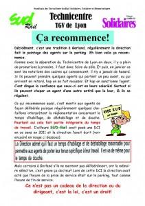 Tract Technicentre Lyon janvier 2014