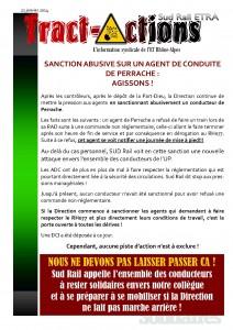 sanction abusive sur Perrache