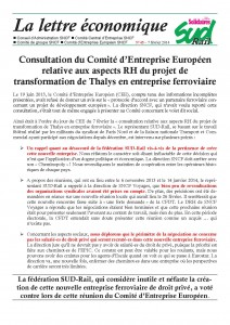 2014 - 02 - 07 - Lettre Eco 45 Février 2014 CEE