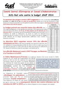 2014 - 1 - 6 - Budget 2014 SNCF
