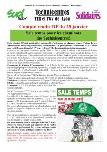 CR dp Techni Lyon 28 janv 14