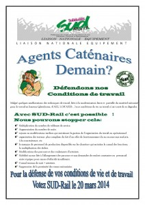 tract caténaire