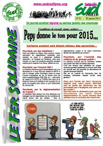 Fer Solidaire janvier 2015 page 1