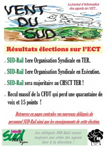 Vent du SUD novembre 2015 résultats